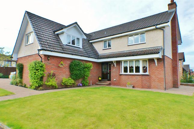 Thumbnail Detached house for sale in Wood Aven Drive, Stewartfield, East Kilbride
