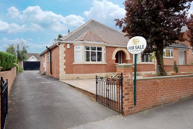 Thumbnail Bungalow for sale in Queens Drive, Ossett, West Yorkshire