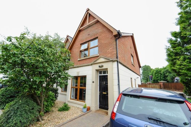Thumbnail Semi-detached house for sale in Motte Lodge East Link Road, Dundonald, Belfast