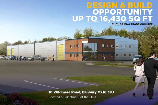 Thumbnail Light industrial to let in Wildmere Road, Banbury, Oxfordshire