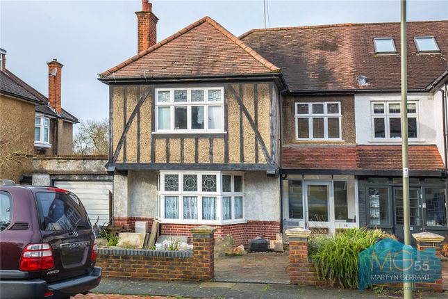 Thumbnail Semi-detached house for sale in Claremont Park, Finchley, London