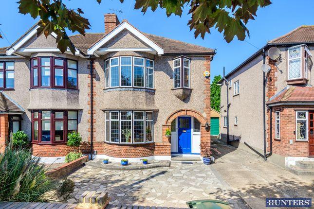 Thumbnail Semi-detached house for sale in Ravenscourt Grove, Hornchurch, Essex