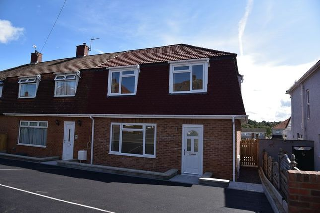 Thumbnail End terrace house for sale in Woodleigh Gardens, Whitchurch, Bristol