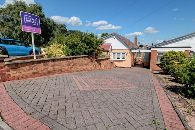Thumbnail Detached bungalow for sale in Stamford Crescent, Burntwood