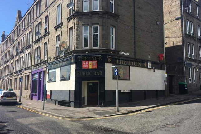 Thumbnail Land for sale in The Lyon Bar, 20 Erskine Street, Dundee