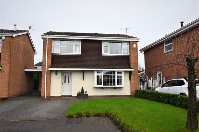 Thumbnail Detached house for sale in Langford Road, Mickleover, Derby