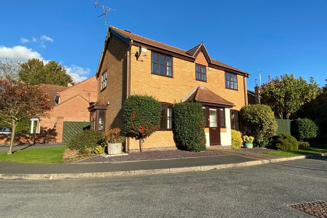 Thumbnail Detached house for sale in Milestone Close, Kibworth Harcourt, Leicester