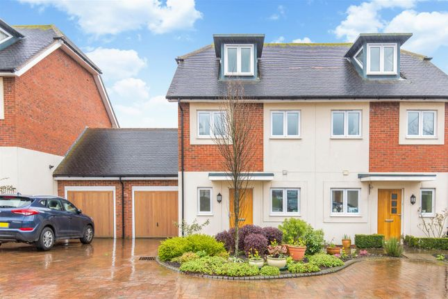 Semi-detached house for sale in Crosshaven Place, Lewes