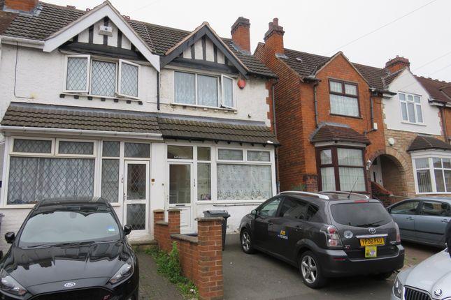 Thumbnail Terraced house for sale in Bromyard Road, Sparkhill, Birmingham