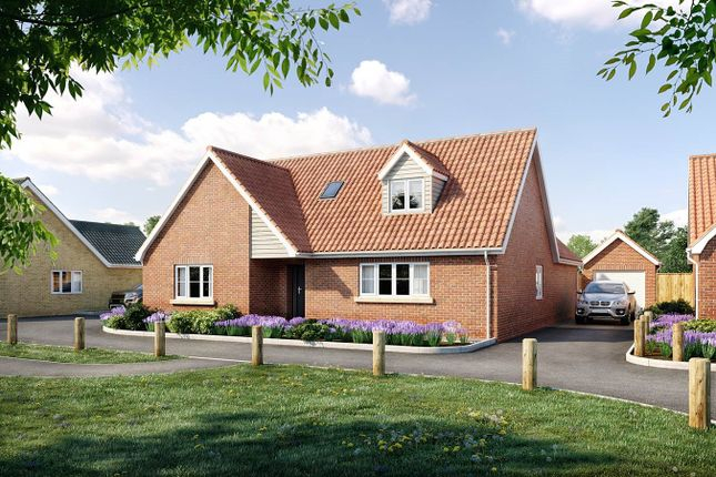 Thumbnail Property for sale in Chandler Road, Stoke Holy Cross, Norwich