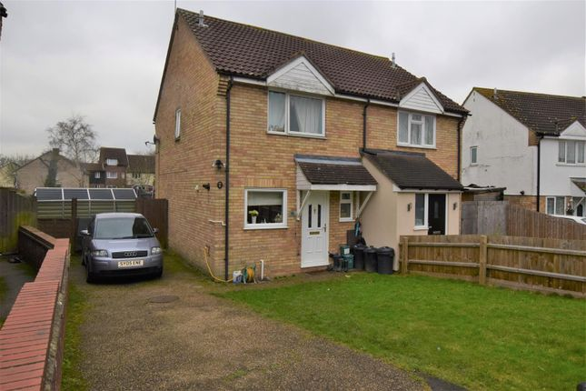 Thumbnail Semi-detached house for sale in Sinnington End, Highwoods, Colchester