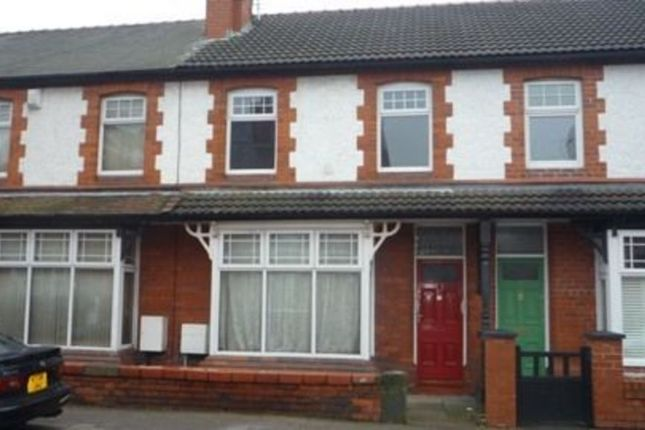 Thumbnail Terraced house to rent in Panton Road, Hoole, Chester