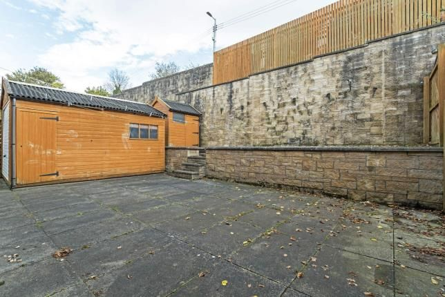 Garden of Clove Mill Wynd, Larkhall, South Lanarkshire, Scotland ML9