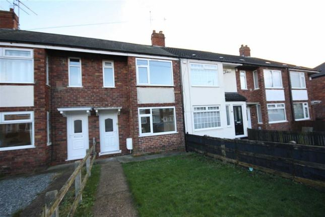 Thumbnail Terraced house to rent in Coronation Road South, Wold Road, Hull