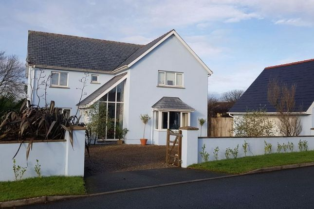 Thumbnail Detached house for sale in Egypt Meadow, Ludchurch, Narberth