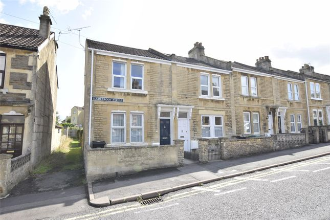 Thumbnail End terrace house for sale in Sladebrook Avenue, Bath, Somerset