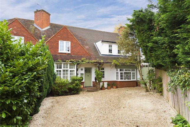 Thumbnail Semi-detached house for sale in Charters Road, Sunningdale, Berkshire