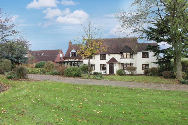 Thumbnail Detached house for sale in Austrey, Warwickshire