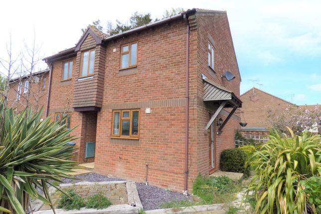Thumbnail 2 bed end terrace house to rent in Warren Way, Barnham, Bognor Regis