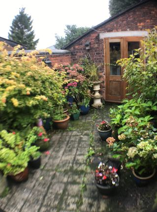 Rear Garden And Out-House