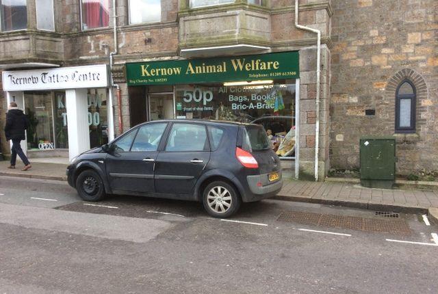 Retail premises to let in Trelowarren Street, Camborne