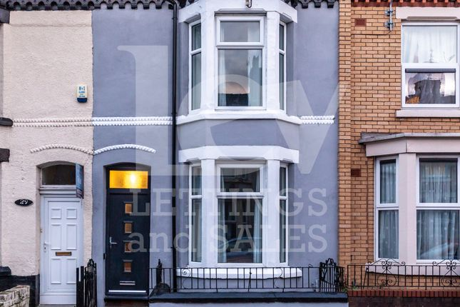 Thumbnail Terraced house to rent in Gilroy Road, Liverpool