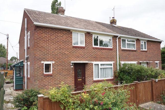 Thumbnail Semi-detached house for sale in Chilbolton, Stockbridge, Hampshire
