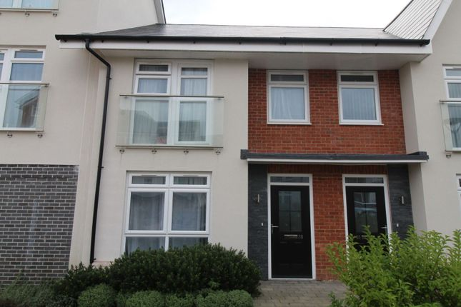 Thumbnail Town house for sale in Adams Close, Poole