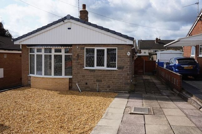 Thumbnail Detached bungalow for sale in Holyhead Crescent, Weston Coyney, Stoke-On-Trent