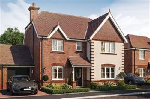 Thumbnail Detached house for sale in Rivernook Farm, Walton On Thames, Surrey