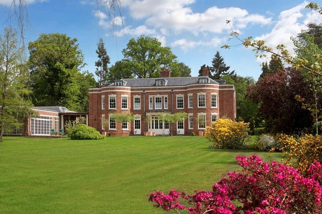 Thumbnail Detached house for sale in Spring Woods, Wentworth, Virginia Water, Surrey