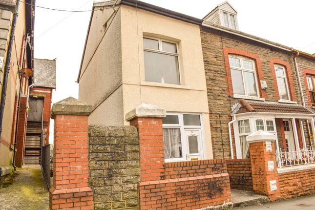 Thumbnail End terrace house for sale in Station Street, Treherbert