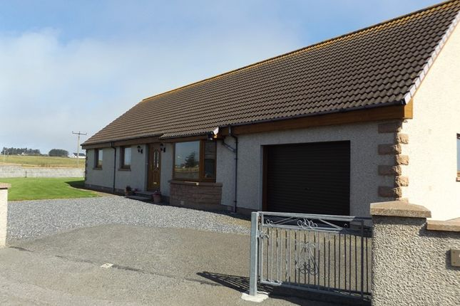 Thumbnail Detached bungalow for sale in Robertson Crescent, Keiss