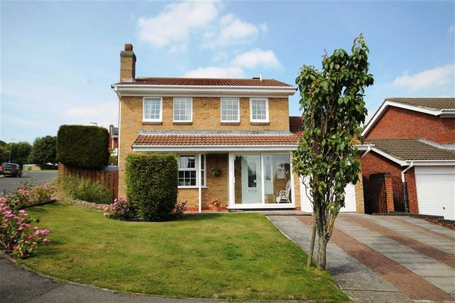 Thumbnail Detached house for sale in Fielding Court, Crook, County Durham