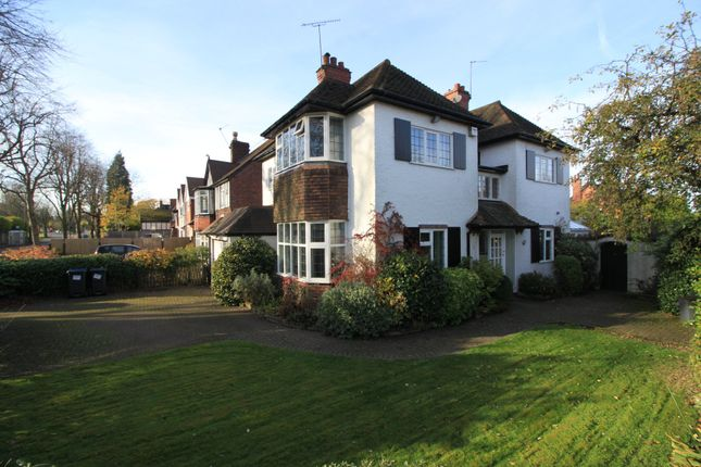 Thumbnail Link-detached house for sale in Kelmscott Road, Harborne, Birmingham
