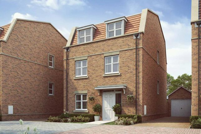 "Thumbnail End terrace house for sale in ""The Gloster - Plot 16 "" at Aylsham Drive, Uxbridge"