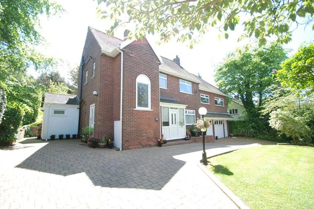Thumbnail Detached house for sale in Ashes Lane, Stalybridge, Cheshire