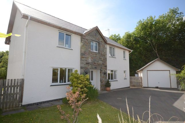 Thumbnail Detached house to rent in Black Lion Fields, Talybont