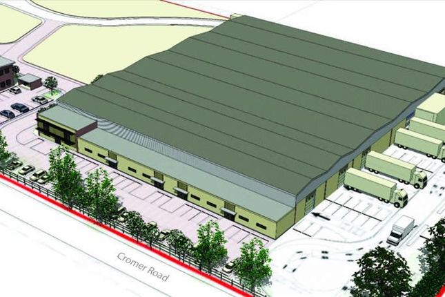 Thumbnail Light industrial to let in Cromer Road, North Walsham