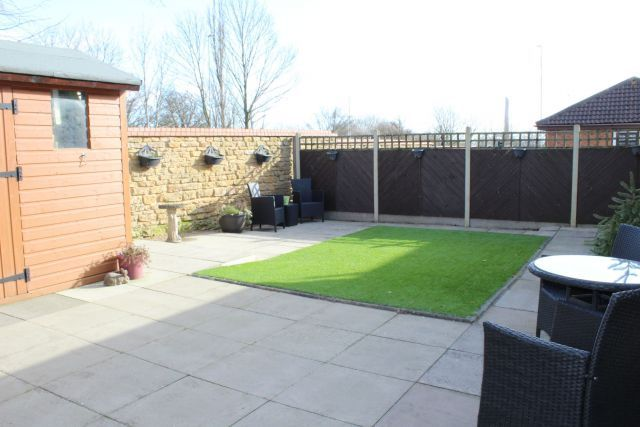 Rear Garden of Hawkstone Close, Duston, Northampton NN5