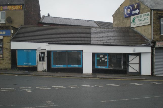 Retail premises to let in Thornton Road, Bradford