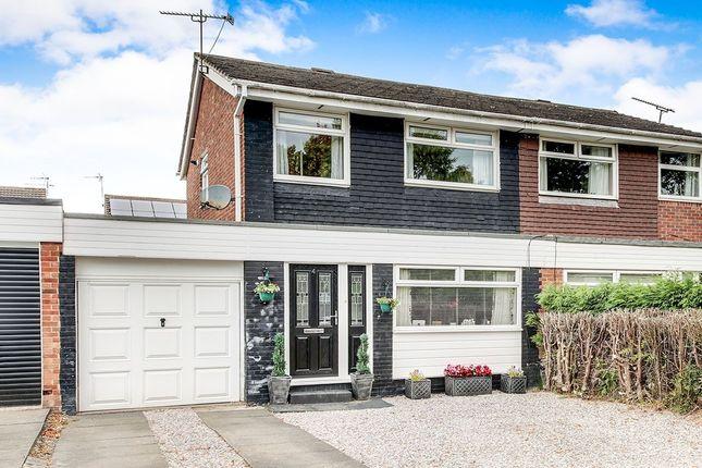 Thumbnail Semi-detached house for sale in Shanklin Place, Cramlington