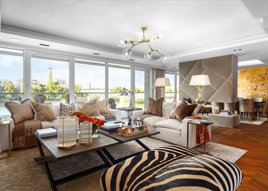 Thumbnail Flat for sale in Centurion Building, 376 Queenstown Road, London