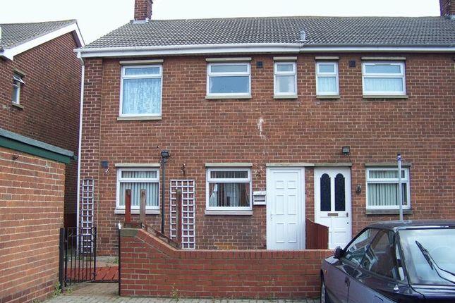 Thumbnail Terraced house to rent in Debdon Road, Ashington