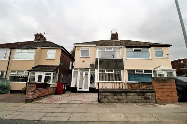 3 bed semi-detached house for sale in Wyndham Avenue, Huyton, Liverpool, Merseyside