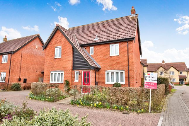 Thumbnail Detached house for sale in Fern Close, Dereham