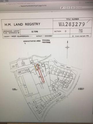 Title Plan of Heol Las, Birchgrove, Swansea SA7