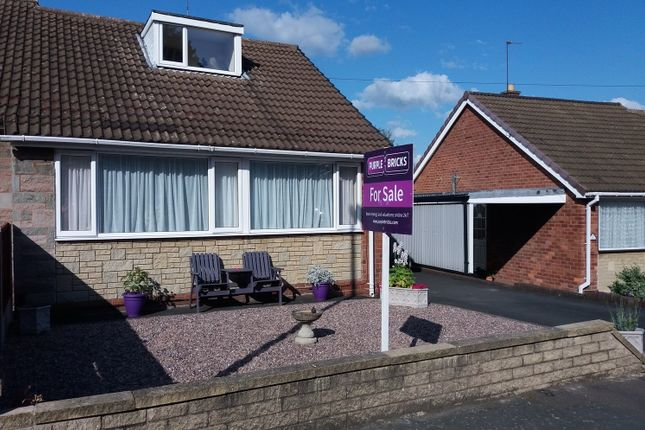 Thumbnail Semi-detached bungalow for sale in School Grove, Oakengates Telford