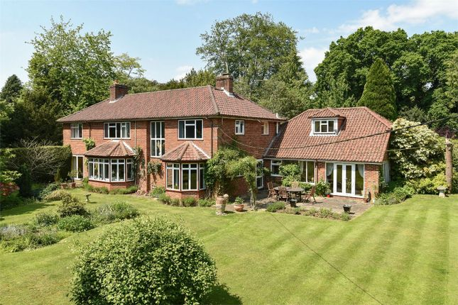 Thumbnail Detached house for sale in Shawford, Winchester, Hampshire