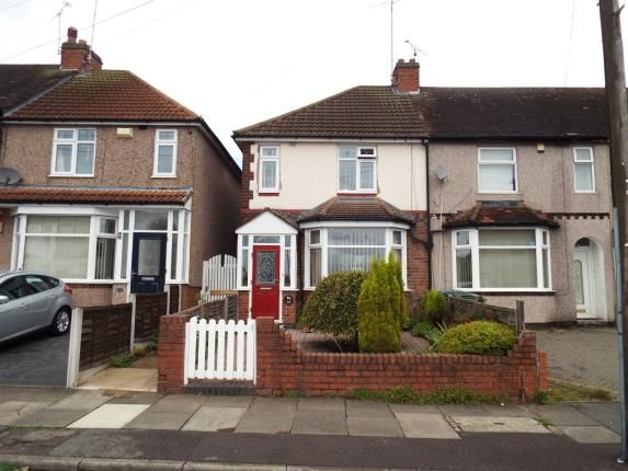 2 bed end terrace house for sale in Rollason Road, Coventry, West Midlands